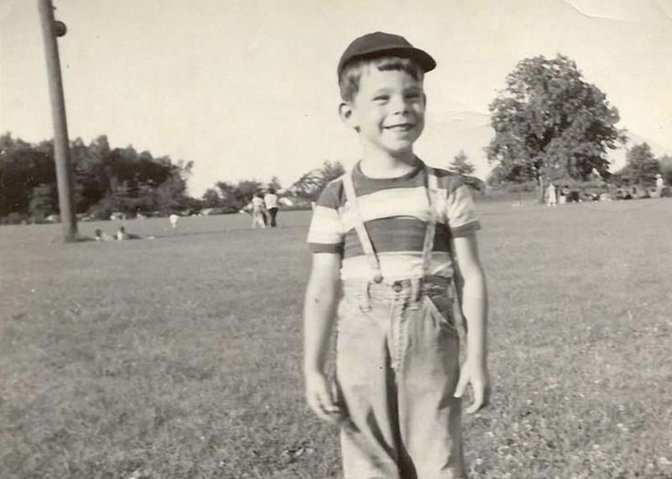 Stephen King in 1952, 3 years after his father walked out on his family.  The Rolling Stone Interview is great.