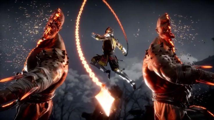 Mk11 Wallpaper: Mortal Kombat 11 - Scorpion's Fatalities