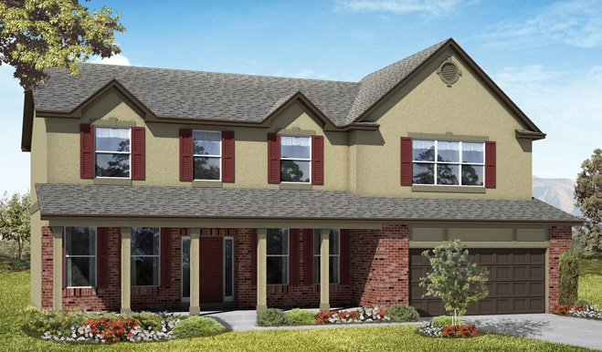 """The exterior of this home is simply not my favorite, but the floor plan is absolutely perfect for us.  So perfect, that I can forgive any disappointment in the exterior!  Seriously, it feels like """"home"""" whenever I walk through it.  LOVE."""