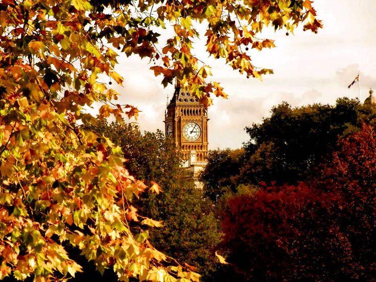 Autumn in London | Autumn | Pinterest | Seasons, The o ...