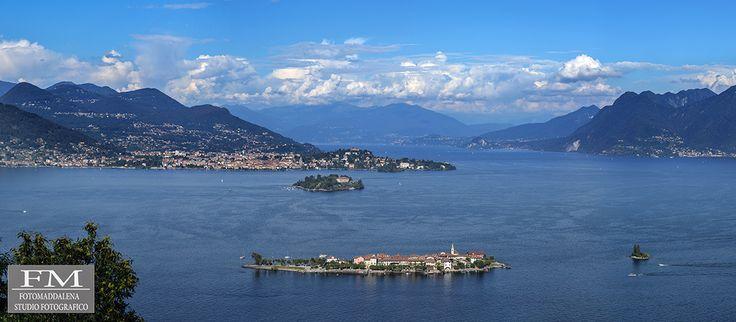 Veduta del Lago Maggiore #lakemaggiore #lagomaggiore #verbania #fotomaddalena #stefanomaddalena #nikod700 #nikon #love #panorama #stresa