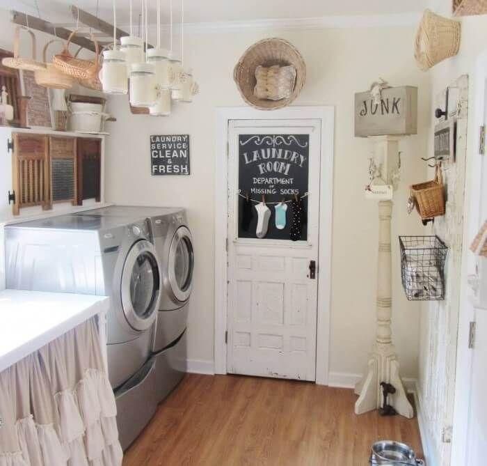 19 Most Beautiful Vintage Laundry Room Decor Ideas Eye Catching