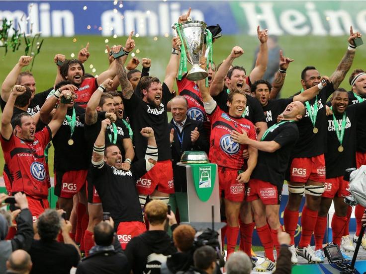 Toulon were also the Heineken Cup winners in 2013