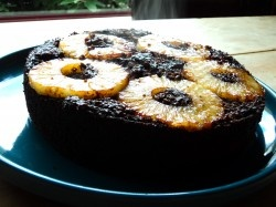 Chelsea's	Chocolate Pineapple Upside Down Cake