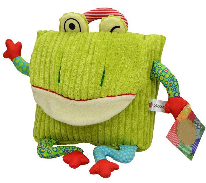 Sozzy Enfants bébé enfants sacs d'école design enfant filles belle peluche sacs maternelle sac à dos