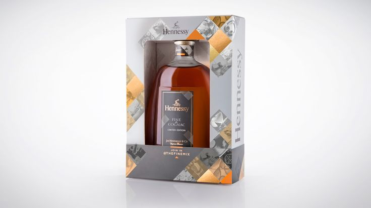 #TheFineMix pack for Hennessy Fine de Cognac on Packaging of the World - Creative Package Design Gallery