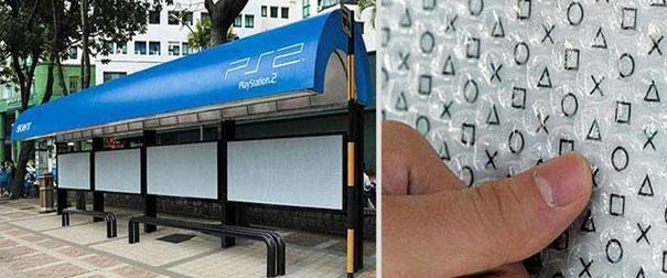 Le top des pubs sur arrêt de bus