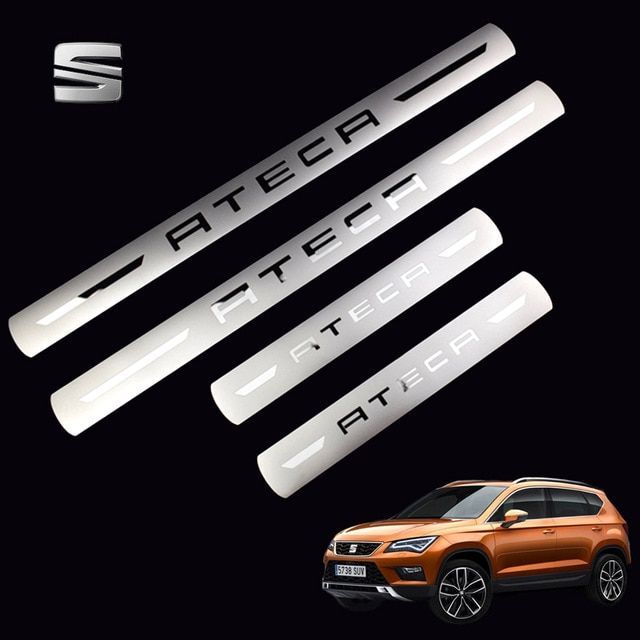 CAR DOOR SILL PROTECTOR compatible with SEAT LEON 2 2005-2013