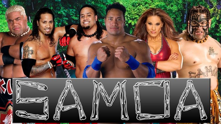 WWE Mashup: The Usos, Rikishi, Rocky Maivia, Tamina Snuka & Umaga (DALYX...and the beautiful Tamina