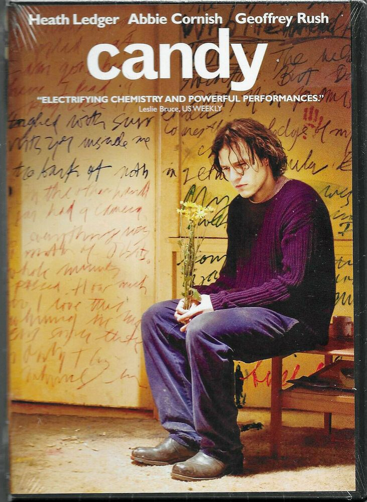 Candy Heath Ledger Abbie Cornish Geoffrey Rush Sealed Dvd Movie Posters Good Movies To Watch Aesthetic Movies