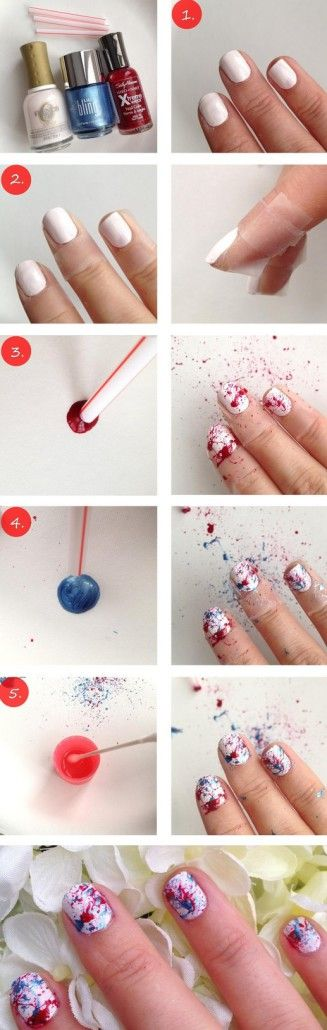 pintar uñas paso a paso - Buscar con Google
