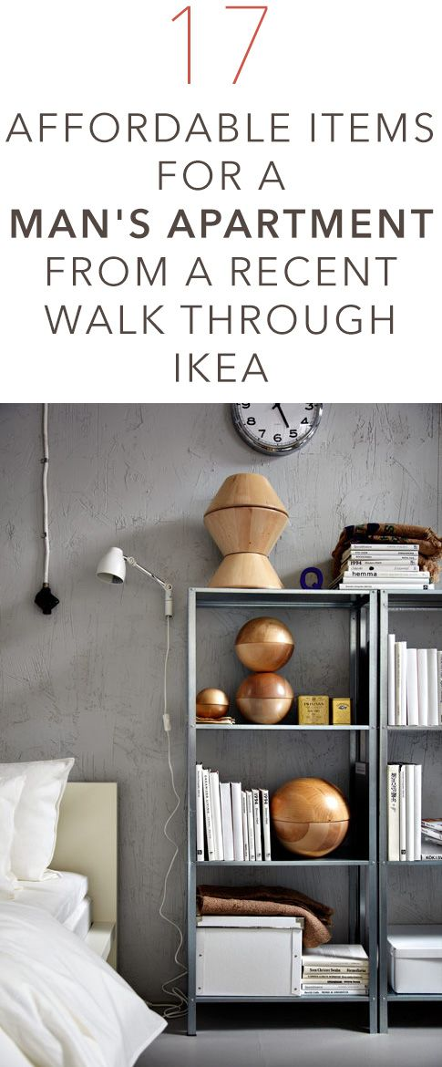 17 Affordable Items for a Man's Apartment from a Recent Walk Through Ikea