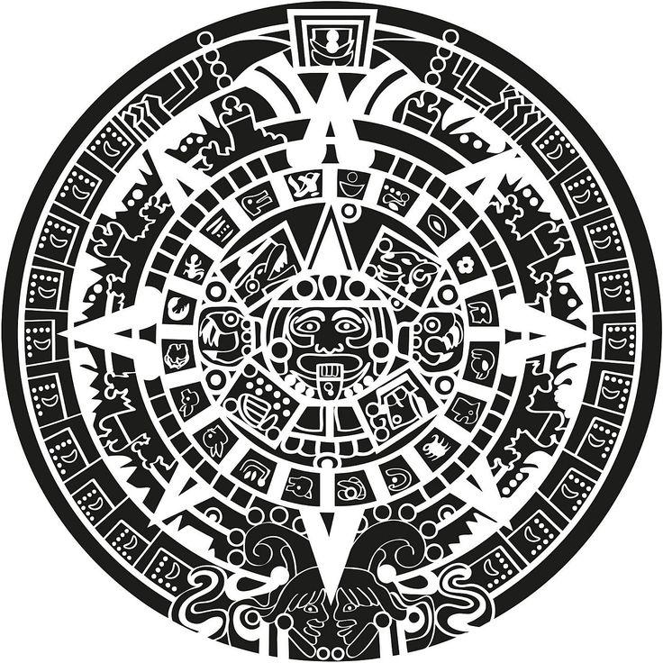 die besten 20 azteken tattoo ideen auf pinterest. Black Bedroom Furniture Sets. Home Design Ideas