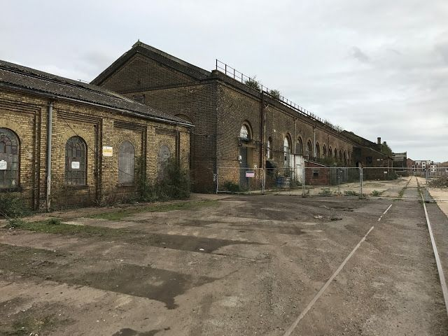 Trackbed Walkers: Ashford railway works . A Disused and Abandoned si...