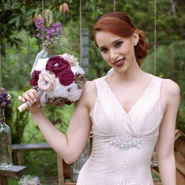 'Bouquet elaborado a mano con flores de tela en tonos nude, vino, ivory y café 👰😍 Fotografía @focus_elsalvador #wedding #elsalvador #bridal #brides #novias #boda #sivar #insta #picoftheday' by @zoestoresv.  #bridesmaid #невеста #parties #catering #venues #entertainment #eventstyling #bridalmakeup #couture #bridalhair #bridalstyle #weddinghair #プレ花嫁 #bridalgown #brides #engagement #theknot #ido #ceremony #congrats #instawed #married #unforgettable #romance #celebration #wife #husband…