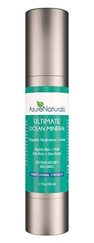 ULTIMATE Ocean Mineral Hydration Creme Facial Moisturizer with 92 powerful oceanic minerals micro minerals antiaging vitamins and vital nutrients help repair rejuvenate and deeply nourish your skin Aloe Vera and Hyaluronic deeply moisturize Blue Green Algae Repairs and Replaces Tissues and Irish Moss Supports Skins Natural Moisture Barrier This powerful moisturizer is a proud part of our line of restorative and healing ocean mineral skin care products 100 * Want to know more, click on the im