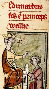 Early Life King Edward II was born on April 25, 1284 at Caernarvon Castle. He was given the title of (the first) the Prince of Wales in 1301 and was crowned King after his father died in 1307. His wife was Isabella of France, Daughter of king Philip IV, King of France.