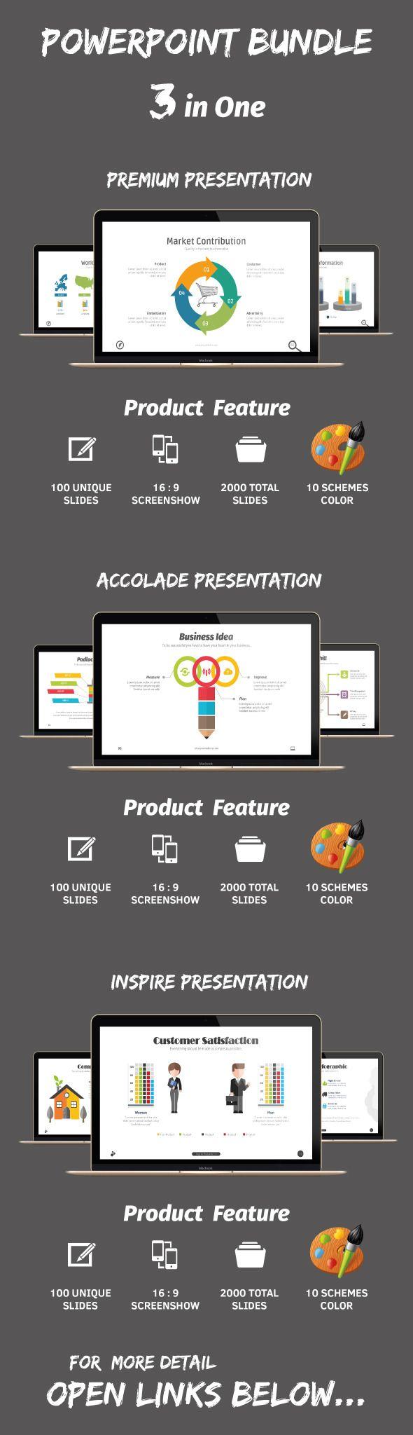 Powerpoint Bundle Vol.01 (PowerPoint Templates)