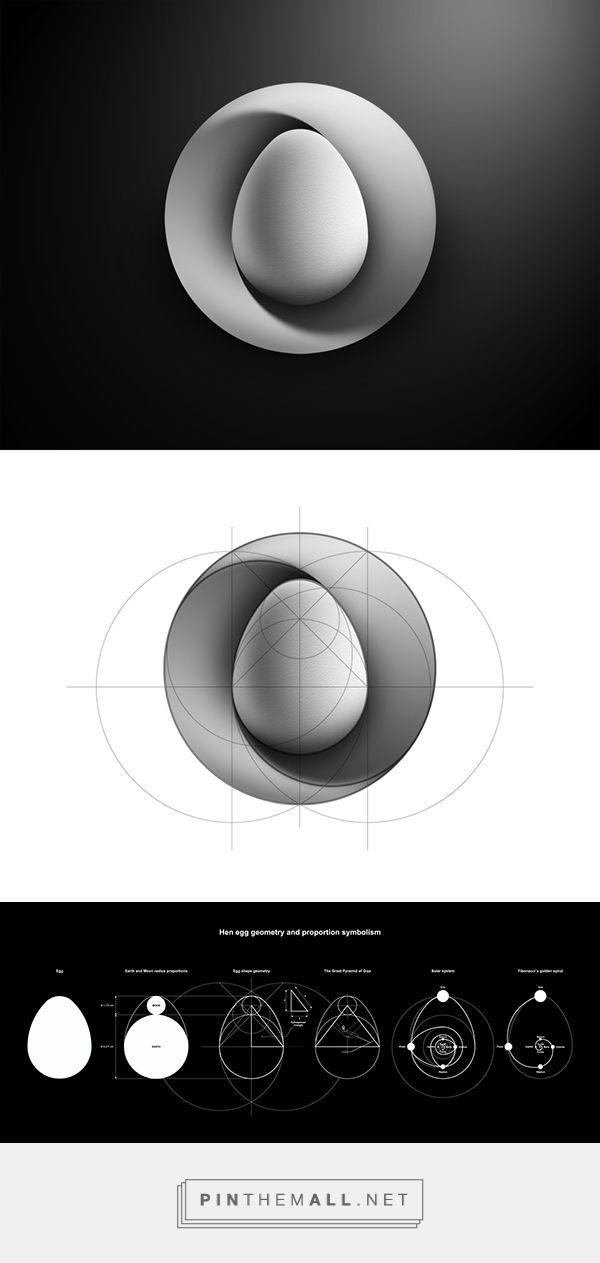 Mobius nest & hen egg logo concept on Behance