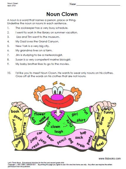 Snapshot Image Of Noun Clown