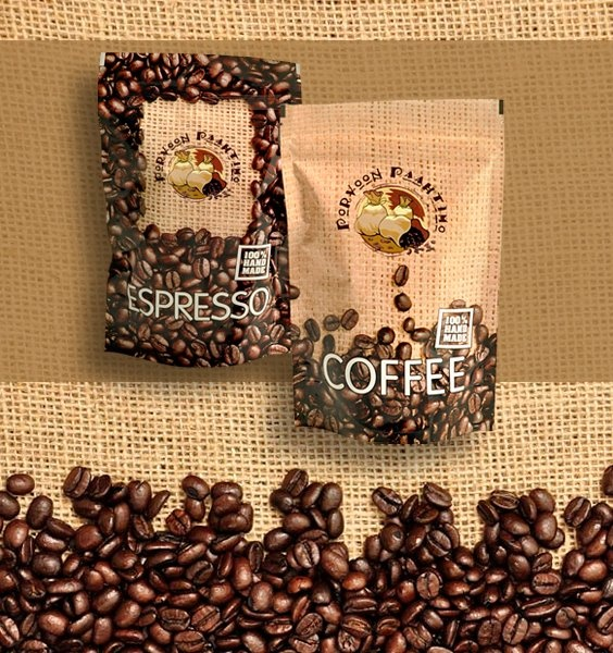 Package design & Product Photography by Maijamedia | Coffee & Espresso - http://pinterest.com/maijamedia/print-press-layout-designs/