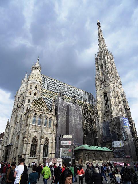 Ponadczasowa katedra - Stephansdom | Z Alicją przez Wiedeń
