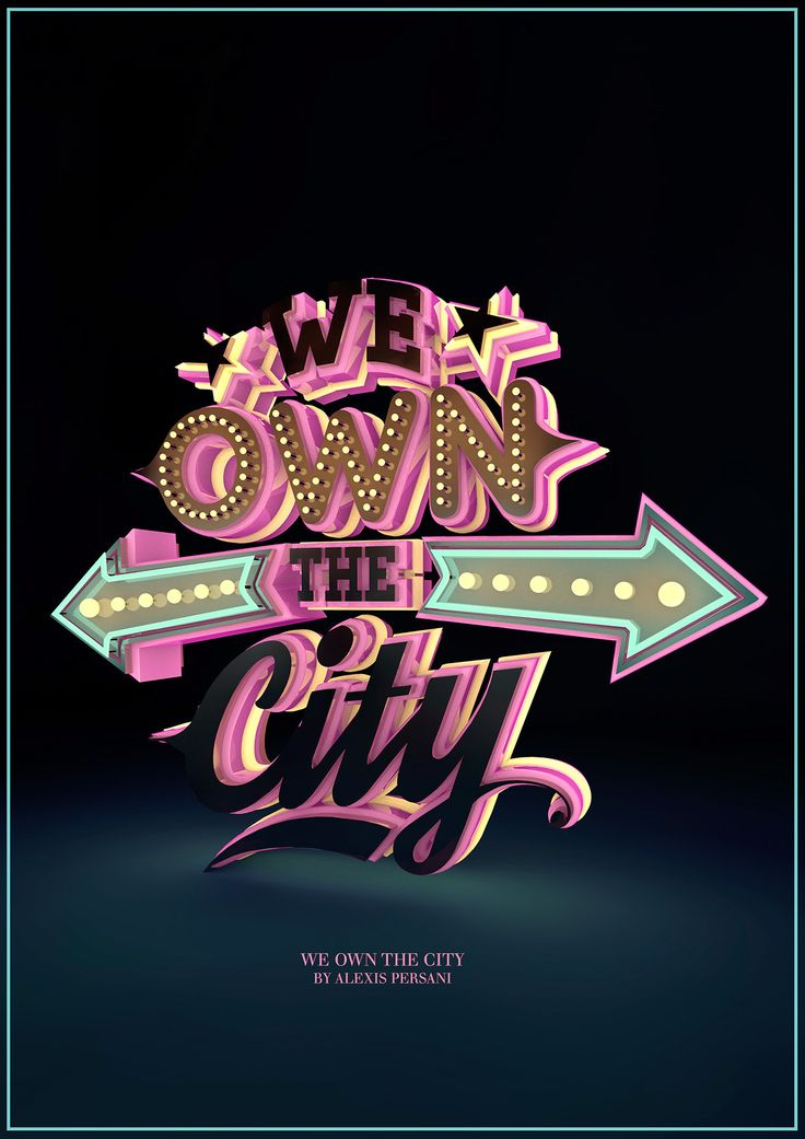 /// We own the city /// on Behance