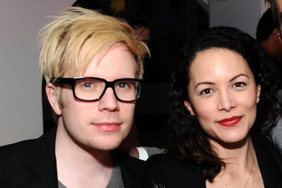 Patrick Stump and wife Elisa yao. I'm happy for him and all, but excuse me to go cry.