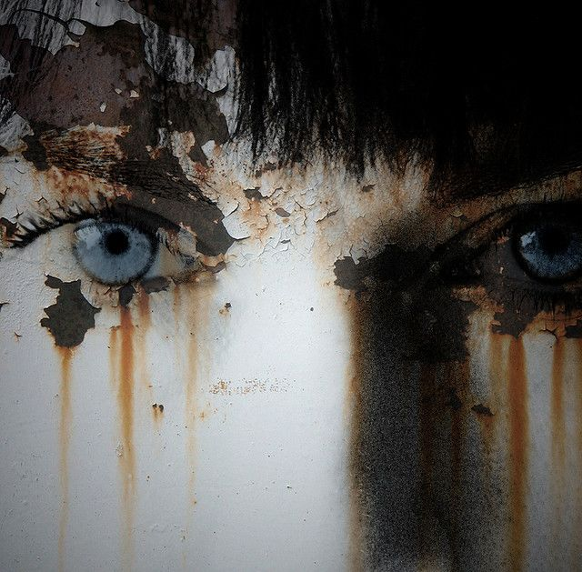 rust  decay  eyes  tears