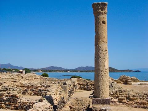 Ruins at Nora, Sardinia
