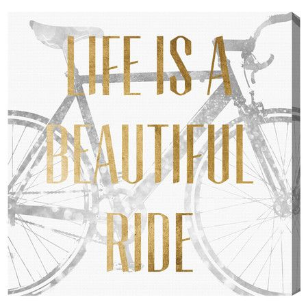 Beautiful Ride Canvas Print, Oliver Gal: Riding Canvas, Canvas Prints, Gal Beautiful, Quote, Canvas Art, Olives Gal, Oliver Gal, Beautiful Riding, Canvases