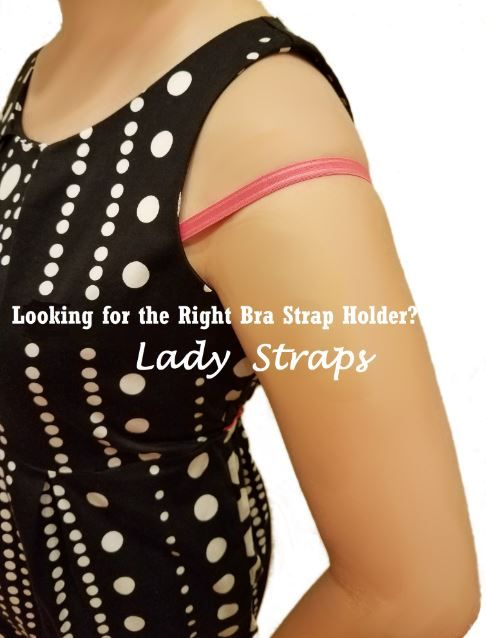 """LADY STRAPS  Tired of having your bra straps constantly falling off your shoulders? Felt annoyed and embarrassed?   Lady Straps can help, whether you're at work, shopping mall or even on a date. Simply """"Click-and-Click"""", your bra straps will securely stay in place."""