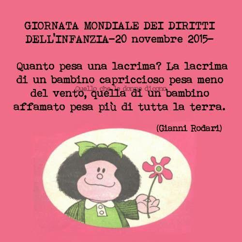 Giornata Mondiale dei diritti dell infanzia