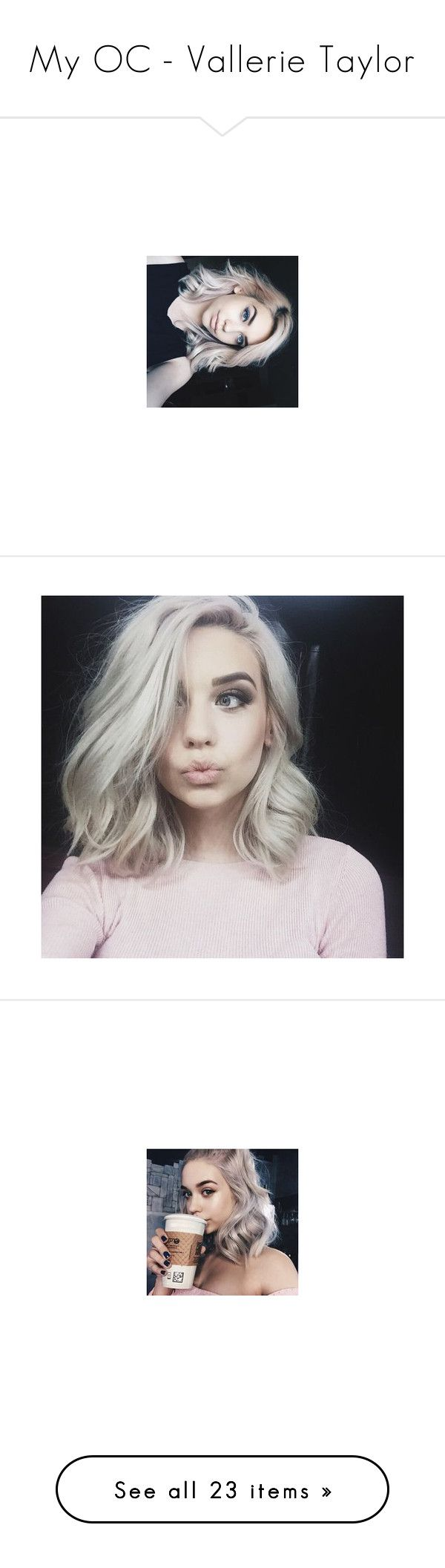 """""""My OC - Vallerie Taylor"""" by makhinegankaller14 ❤ liked on Polyvore featuring amanda steele, hair, people, pics, pictures, accessories, body art, electronics, filler and home stuff"""