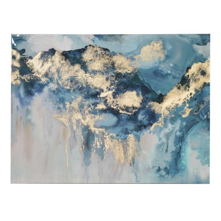 Large Abstract Painting On Canvas White Painting Blue Painting Abstract Oil Painting Original Abstract Canvas Wall Art Office Decor