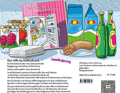 """Check out new work on my @Behance portfolio: """"Der Affe im Kühlschrank Kinderbuch ab 5 Jahre"""" http://be.net/gallery/52329667/Der-Affe-im-Kuehlschrank-Kinderbuch-ab-5-Jahre"""