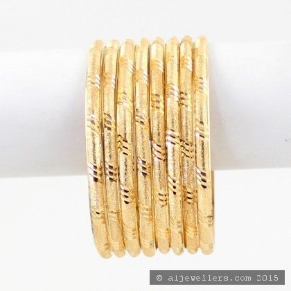 22ct Indian Gold Bangles (1)