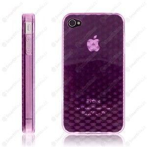 Ochranný kryt / pouzdro pro Apple iPhone 4 diamantový - fialový