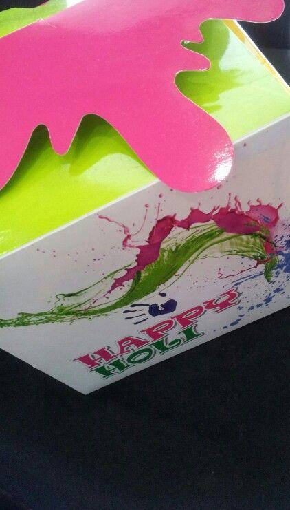 R Khetwani - Holi Packaging Box