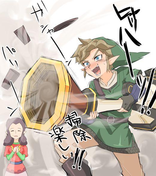 The Legend of Zelda: Skyward Sword, Link and Mallara / 「スカウォつめ」/「tatami」の漫画 [pixiv] [01]