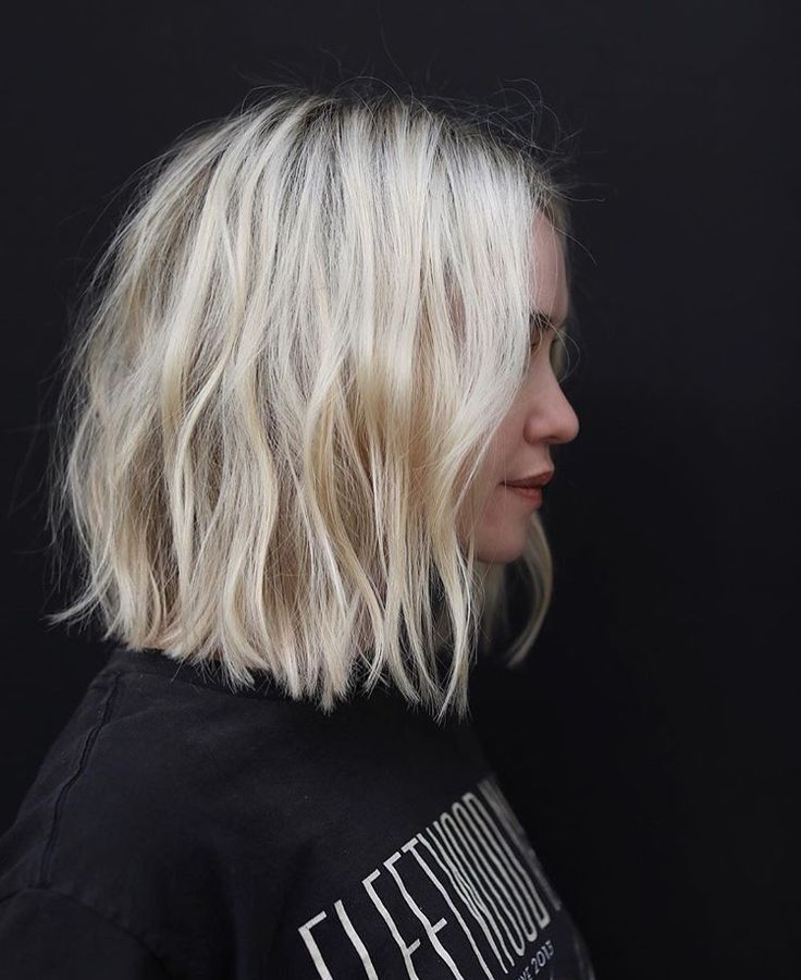 Coupe courte : I'd by no means be capable to pull this colour off however I really like the reduce