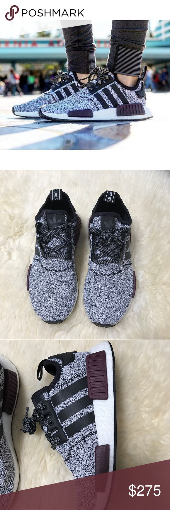 Adidas NMD_R1 J Champs Exclusive Sneakers •NMD R1 Champs Exclusive - BA7841  •Youth size 6 = Women's size 7  •New in box.  •No trades. No paypal. No mercari. Adidas Shoes Sneakers