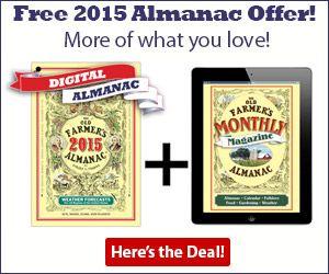 All kinds of gardening advice - Digital Almanac and Almanac Monthly Magazine