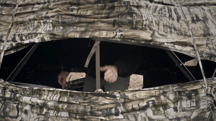 How To Set Up A Primos Double Bull Blind #Raised #GroundBlind #Hunting