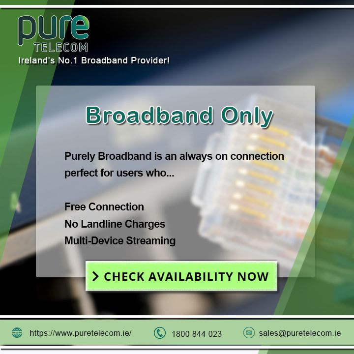 Which Is The Best Broadband Provider In Ireland Broadband Provider Ireland