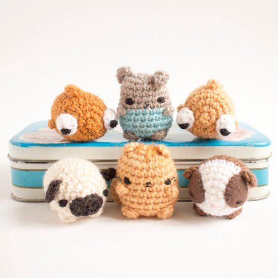 Crochet Cute Critters Amigurumi Animal Pattern Book | Easy amigurumi pattern,  Amigurumi patterns, Pattern books | 570x570