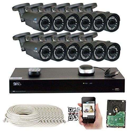 GW Security 16 Channel Security Camera System