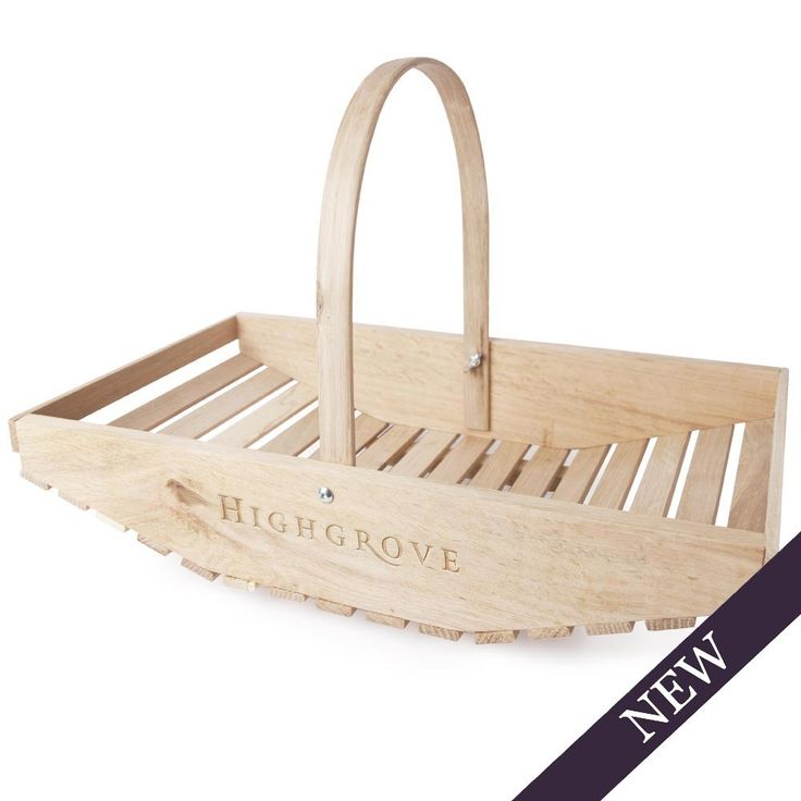This delightful Highgrove traditional wooden Trug is the perfect item to carry bulbs, plants and garden tools around the garden with ease. Crafted by hand from sustainable European beech wood, it has 'Highgrove' laser-engraved on the side. Created by a family run company based in South Wales, each item is unique and the variance between each piece reflects the beauty of the wood. They have a natural untreated finish that will weather sympathetically over time. Key features:  Made in ...