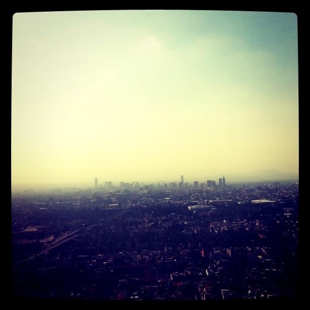 MX city skyline