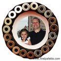 Jar Lid Magnet Photo Frame craft